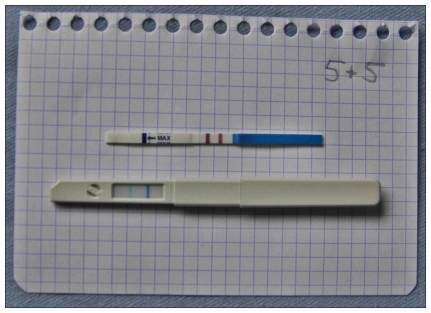 Clearblue negativer schwangerschaftstest Negativer schwangerschaftstest