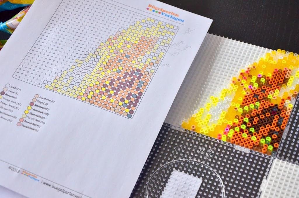 Spielzeug Basteln & Kreativität WunderschöNen Steckperlen Maxi Mit 3 Platten