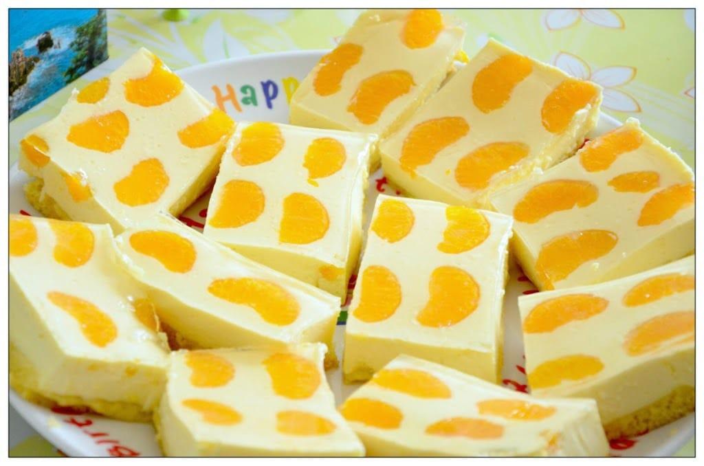 käsekuchen mit mandarinen vom blech