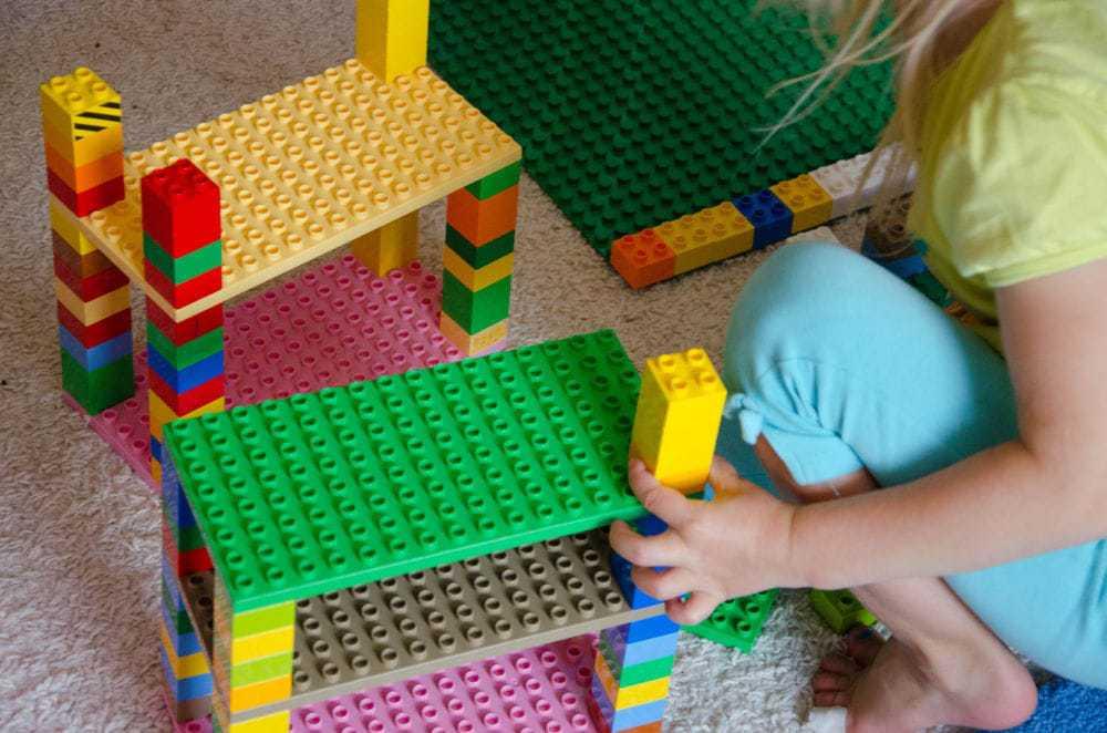 Lilli mit Lego