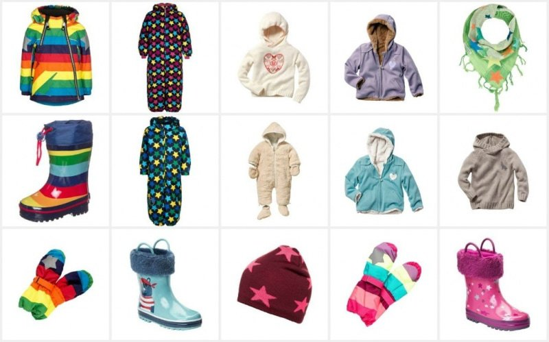 Kinder Winterkleidung