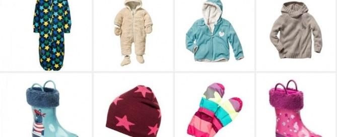 Kinder Winterkleidung Header