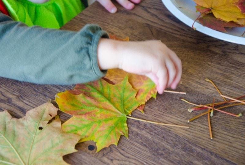 Masking Tape Herbstbaum 10