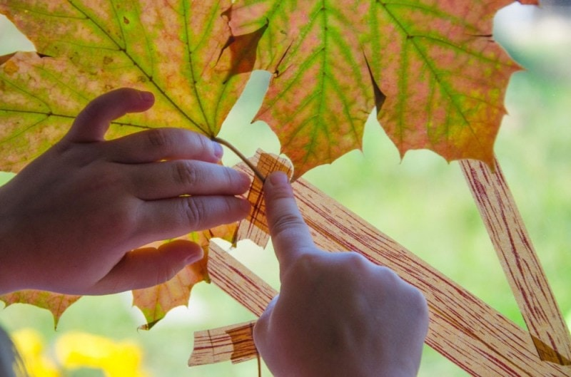 Masking Tape Herbstbaum 11