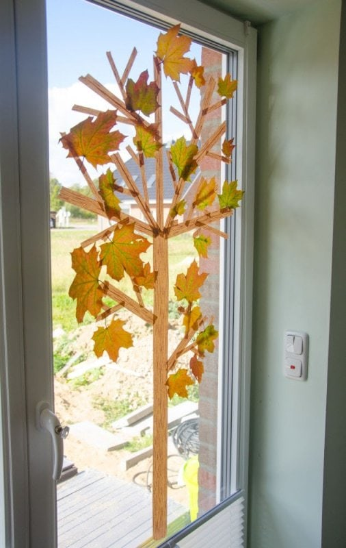 Masking Tape Herbstbaum 13