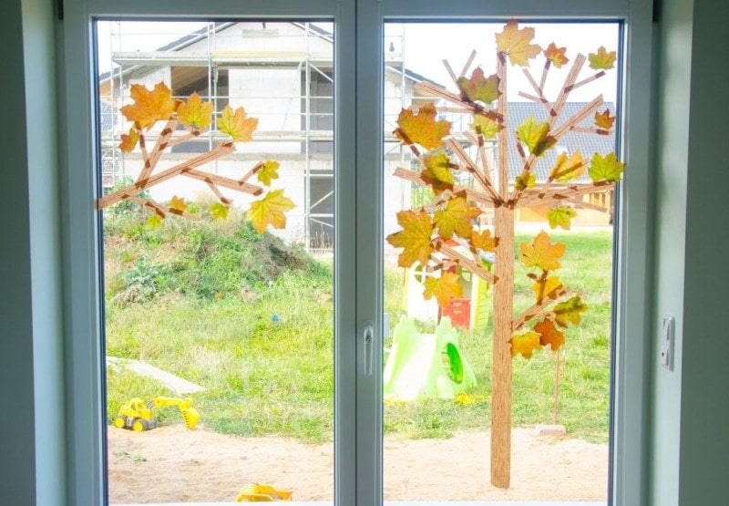Masking Tape Herbstbaum 14