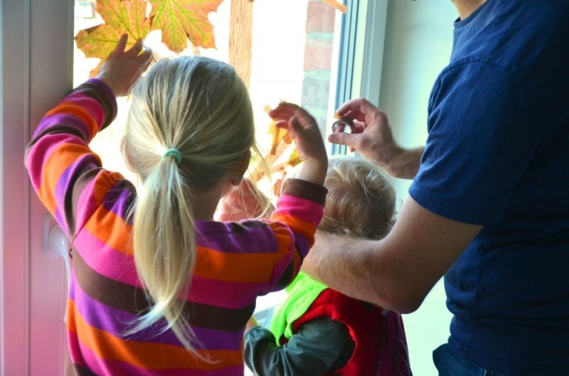 Masking Tape Herbstbaum 4