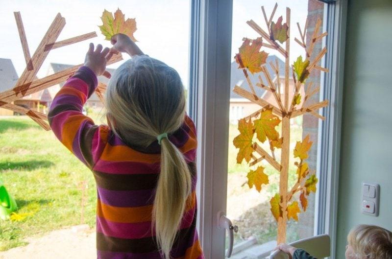 Masking Tape Herbstbaum 5