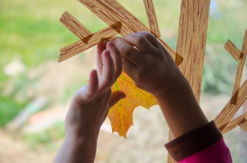 Masking Tape Herbstbaum 8