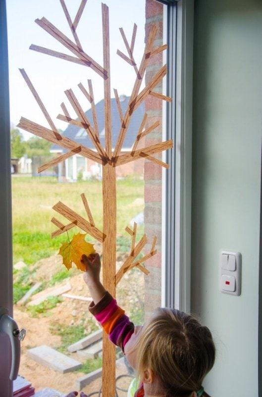 Masking Tape Herbstbaum 9