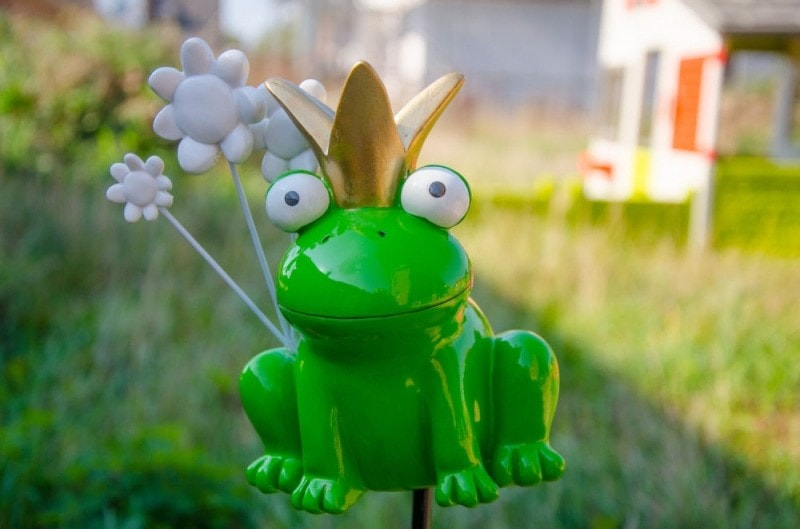Mila Gartenstecker Frosch