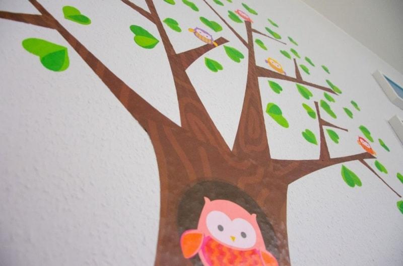 Wandsticker Baum 6