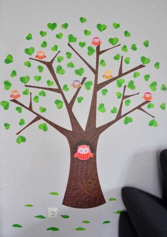 Wandsticker Baum 7