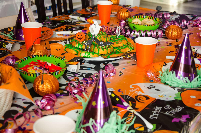 Unsere Halloweenparty In Bildern Familie Baby Kind Und Meer