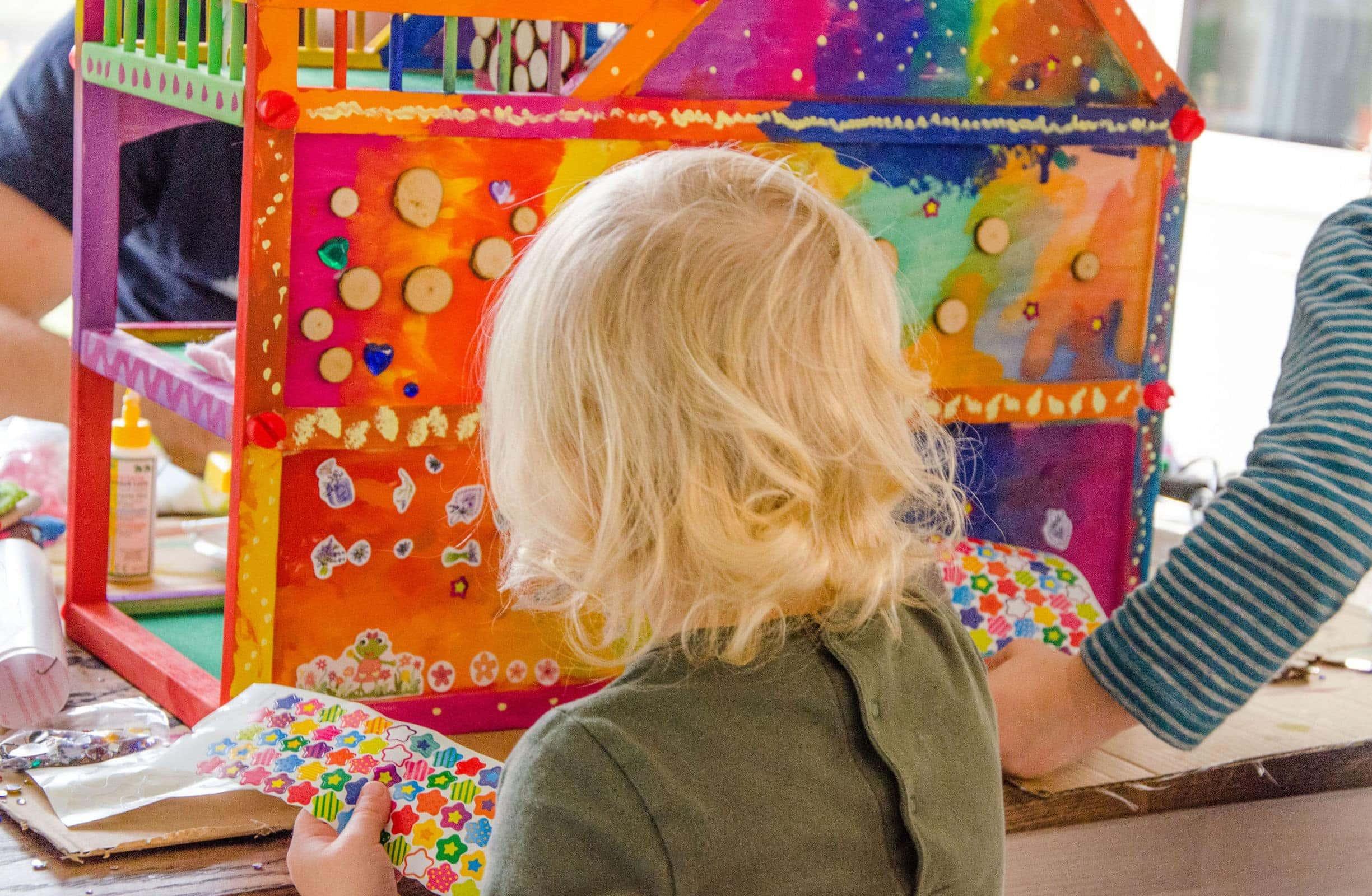 Kinder Tapeten Zum Bemalen : VILLA KUNTERBUNT – Do It Yourself, Inspirationen – Baby, Kind und Meer