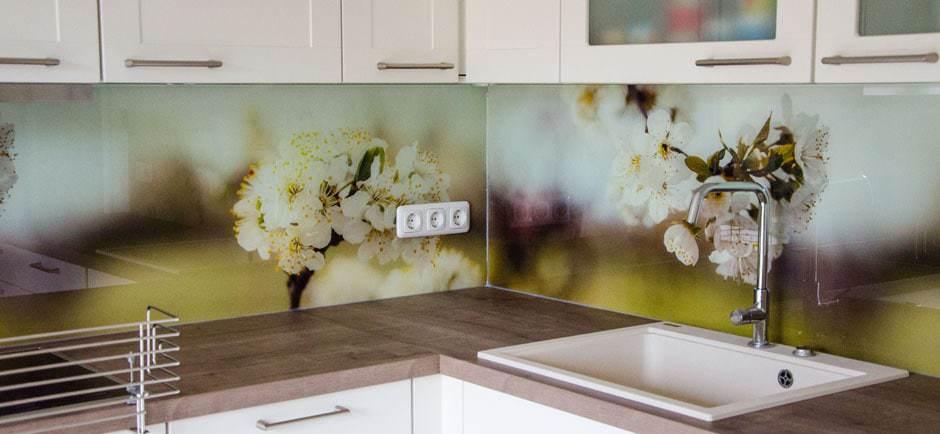 Unsere Küchenrückwand