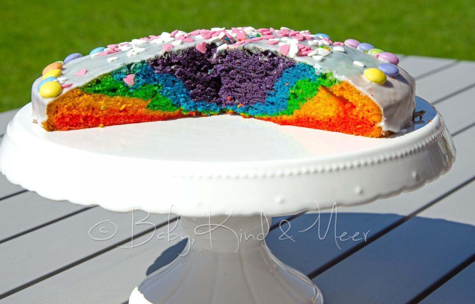 Ein Neuer Regenbogenkuchen Rezepte Für Familien Kreatives Essen