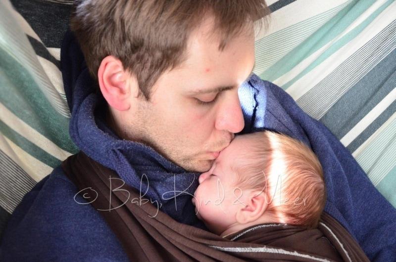 Tom mit Papa