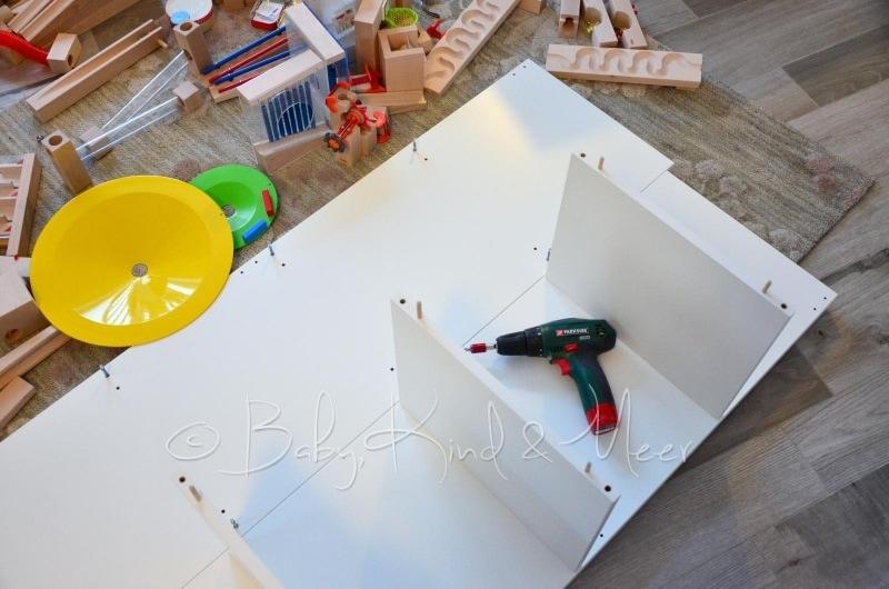 diy ein haba kugelbahn spieltisch spielzeug diy baby kind und meer. Black Bedroom Furniture Sets. Home Design Ideas