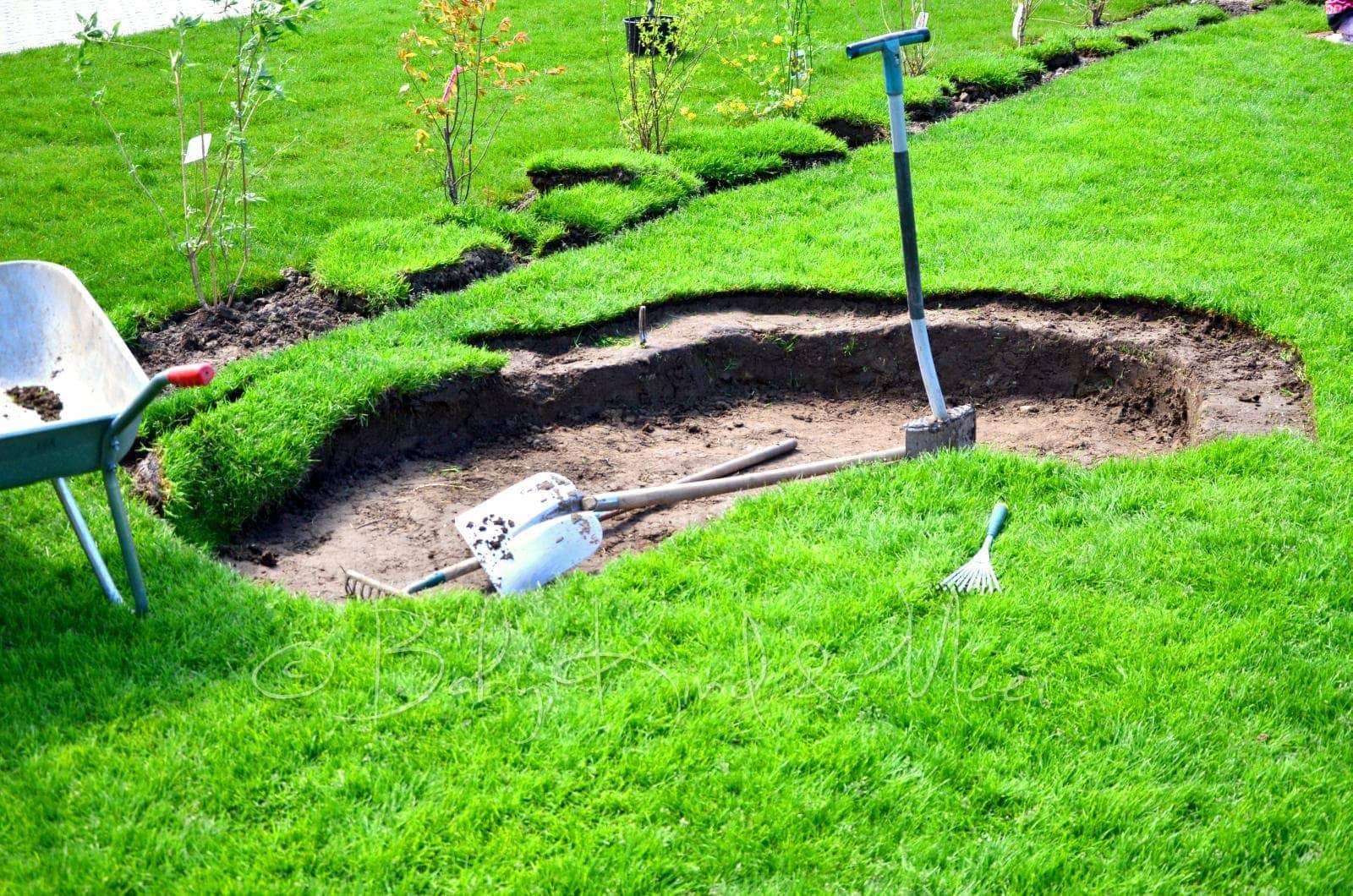 Eine Mosaik Schlange Als Sandkasten Hausbau Garten Diy