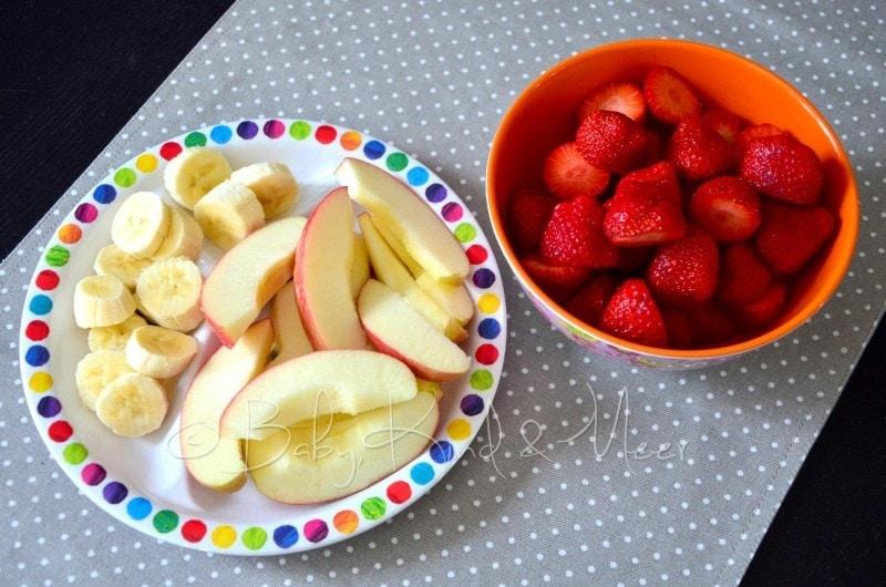 Obst für nachmittags