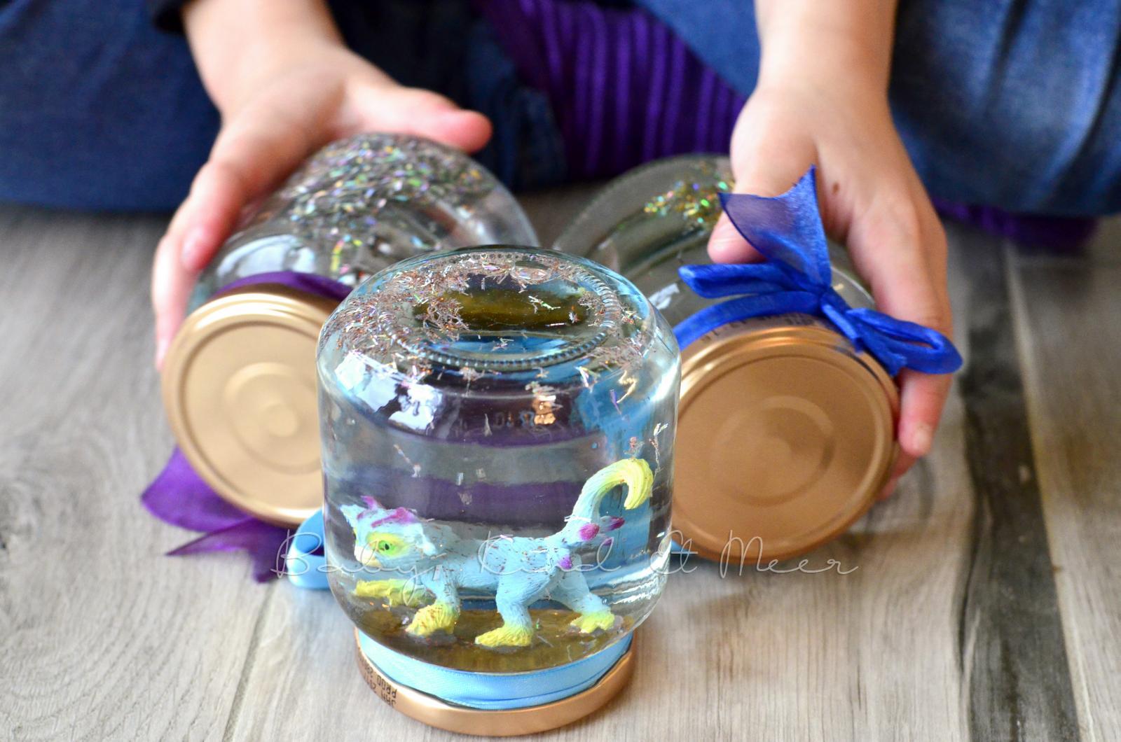Relativ DIY: SCHNEEKUGEL SELBER MACHEN - DIY - Baby, Kind und Meer MD21