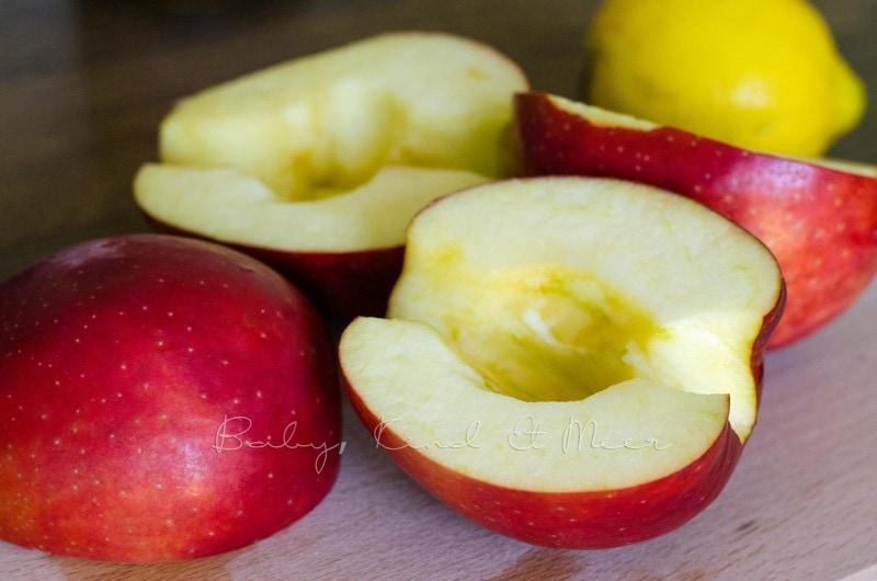 Apfel-Rosen backen (2)