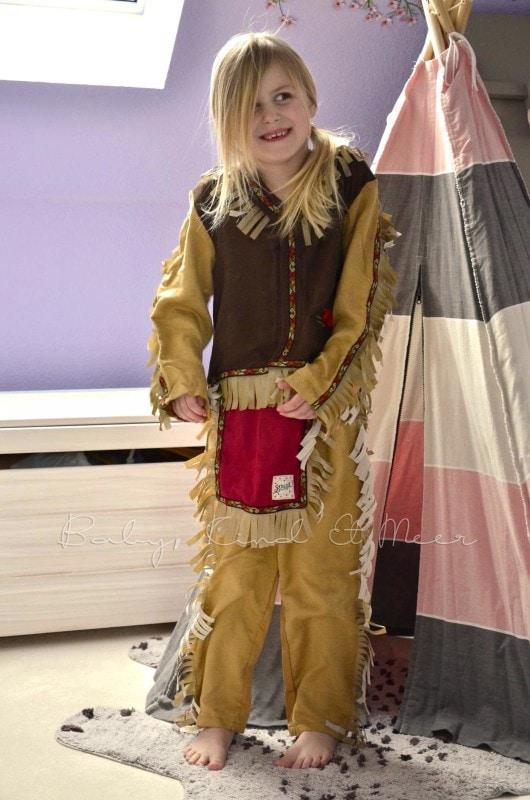 Lilli als Indianer (2)