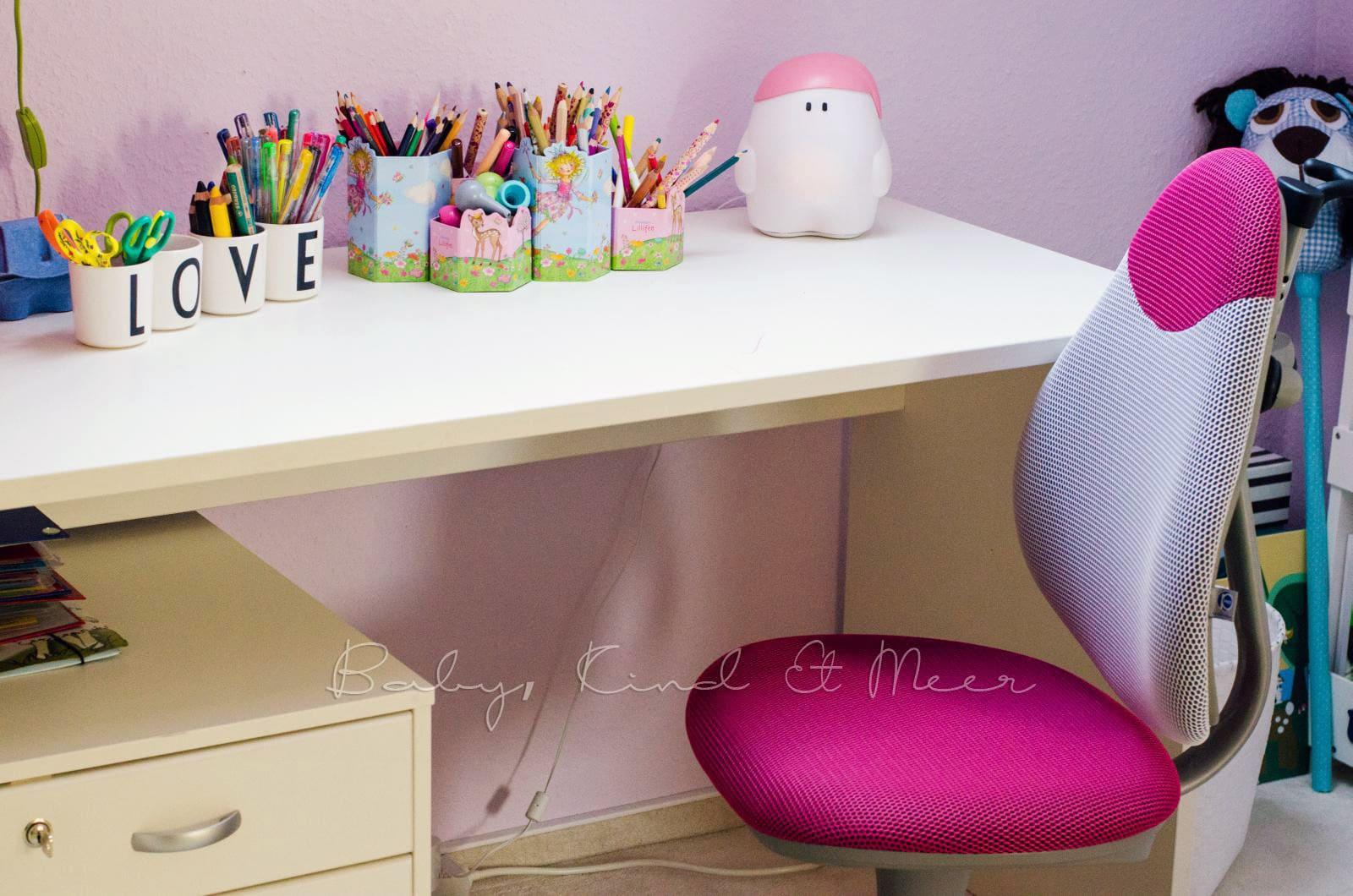 Ein Schreibtisch Für Lotte Kinderzimmer Co Baby Kind Und Meer