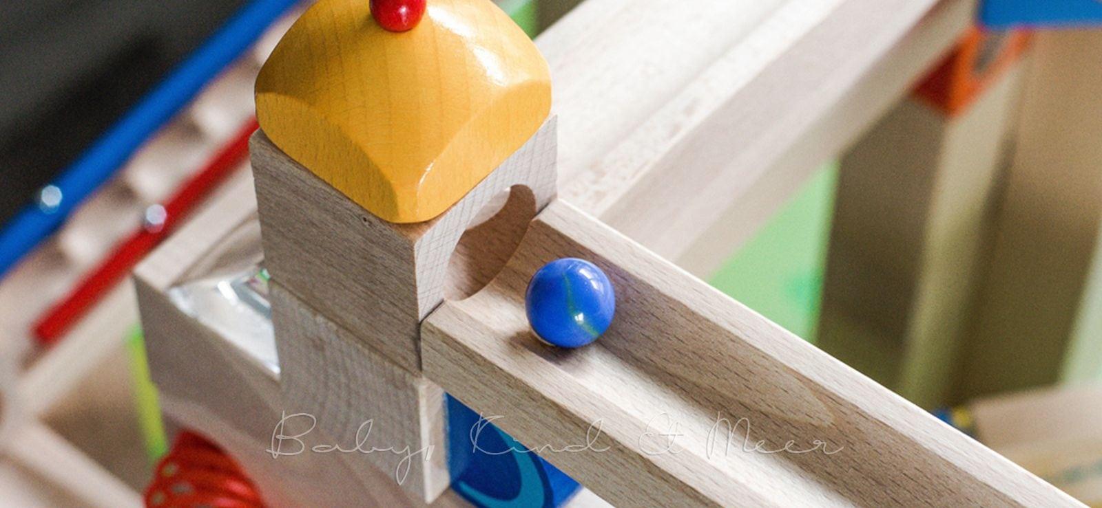 Kugelbahn Spieltisch