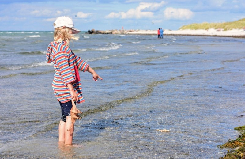 Lilli am Strand