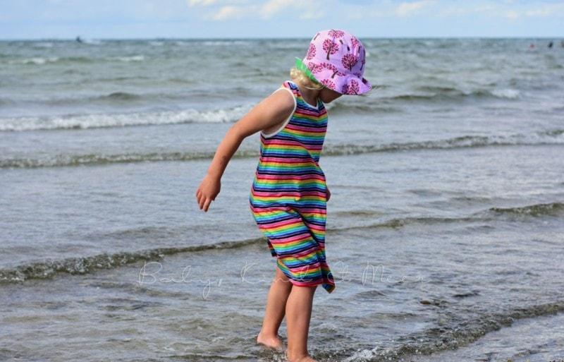 Lotte am Strand
