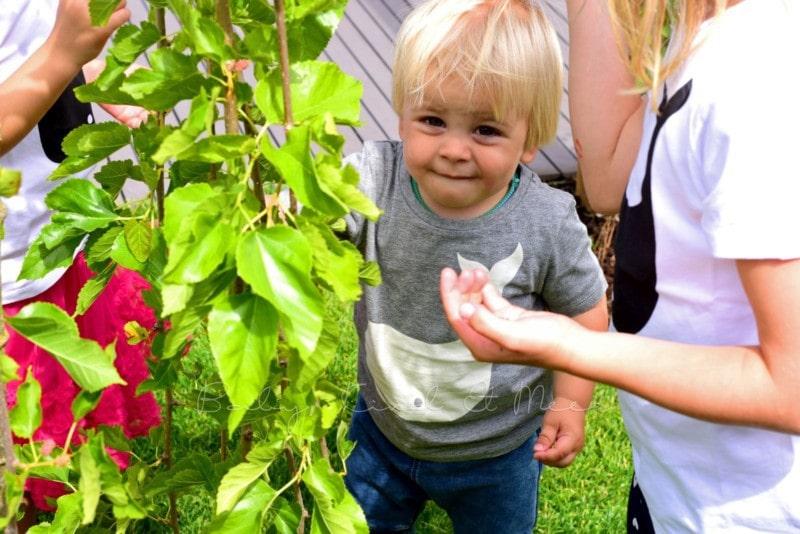 Partnerlook im Garten (2)