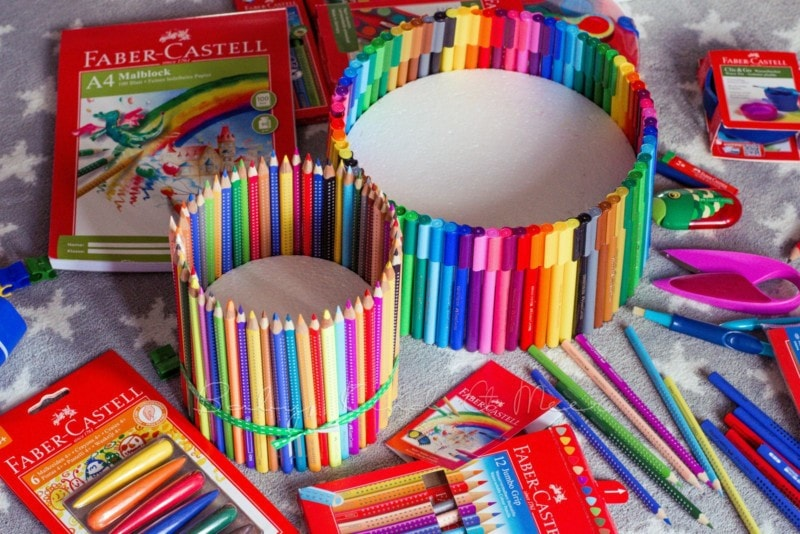Torte aus Stiften (3)