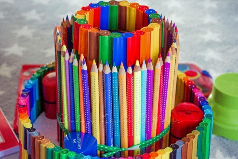 Torte aus Stiften (5)