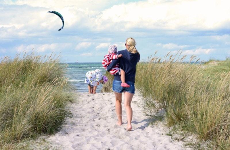 am Strand in Wendtorf