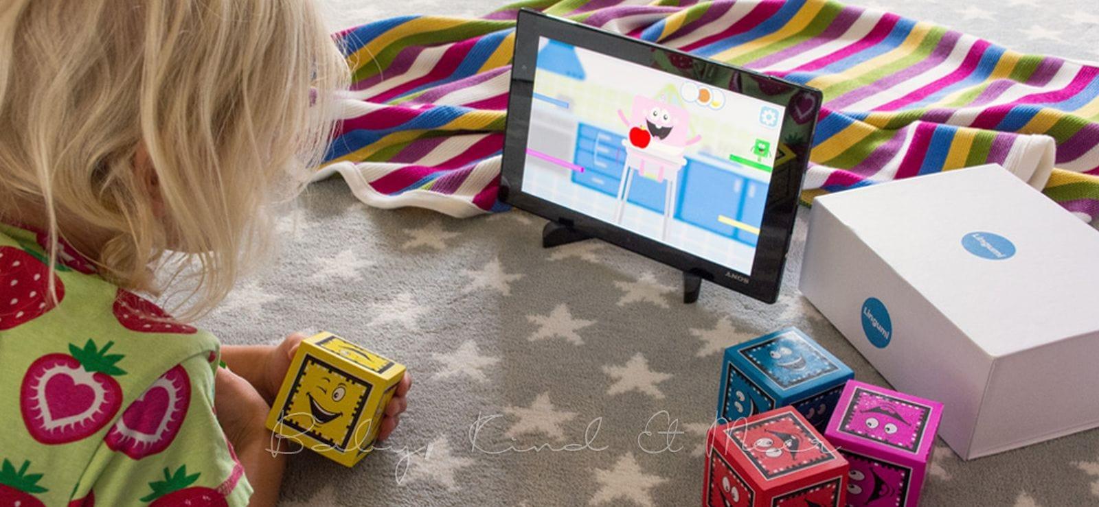 lingumi play spielerisch englisch lernen sch nes n tzliches spielzeug baby kind und meer. Black Bedroom Furniture Sets. Home Design Ideas