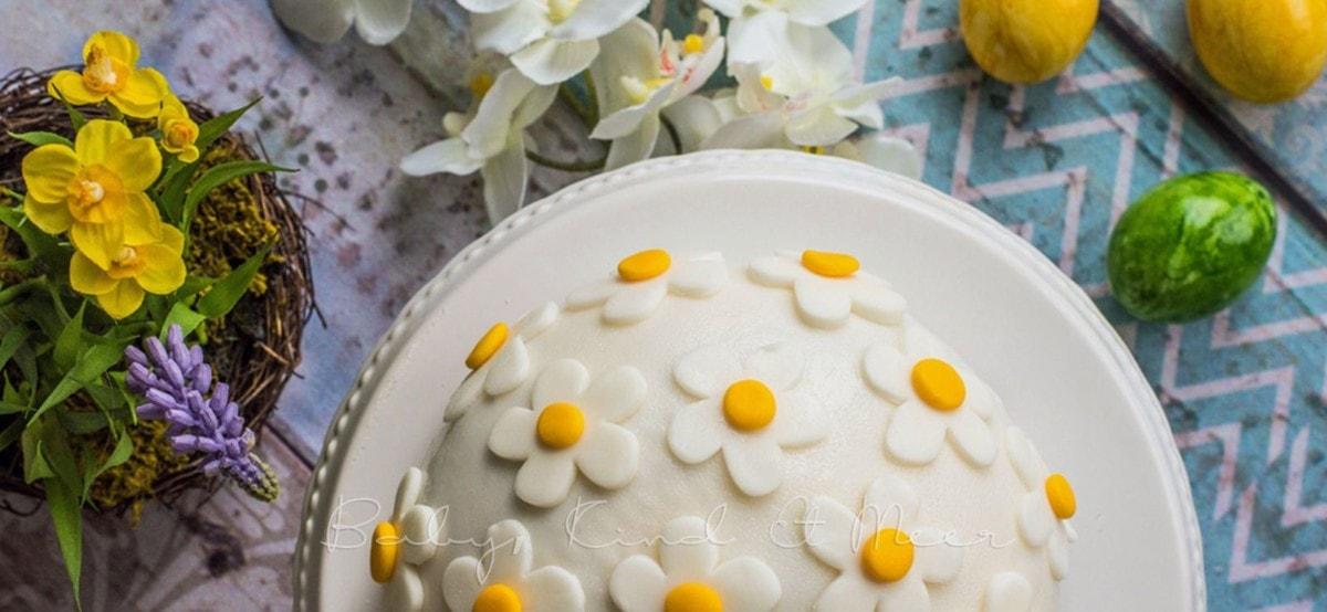 Torte Ostern Blumen