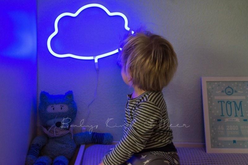 Wolkenlampe Toms Kinderzimmer