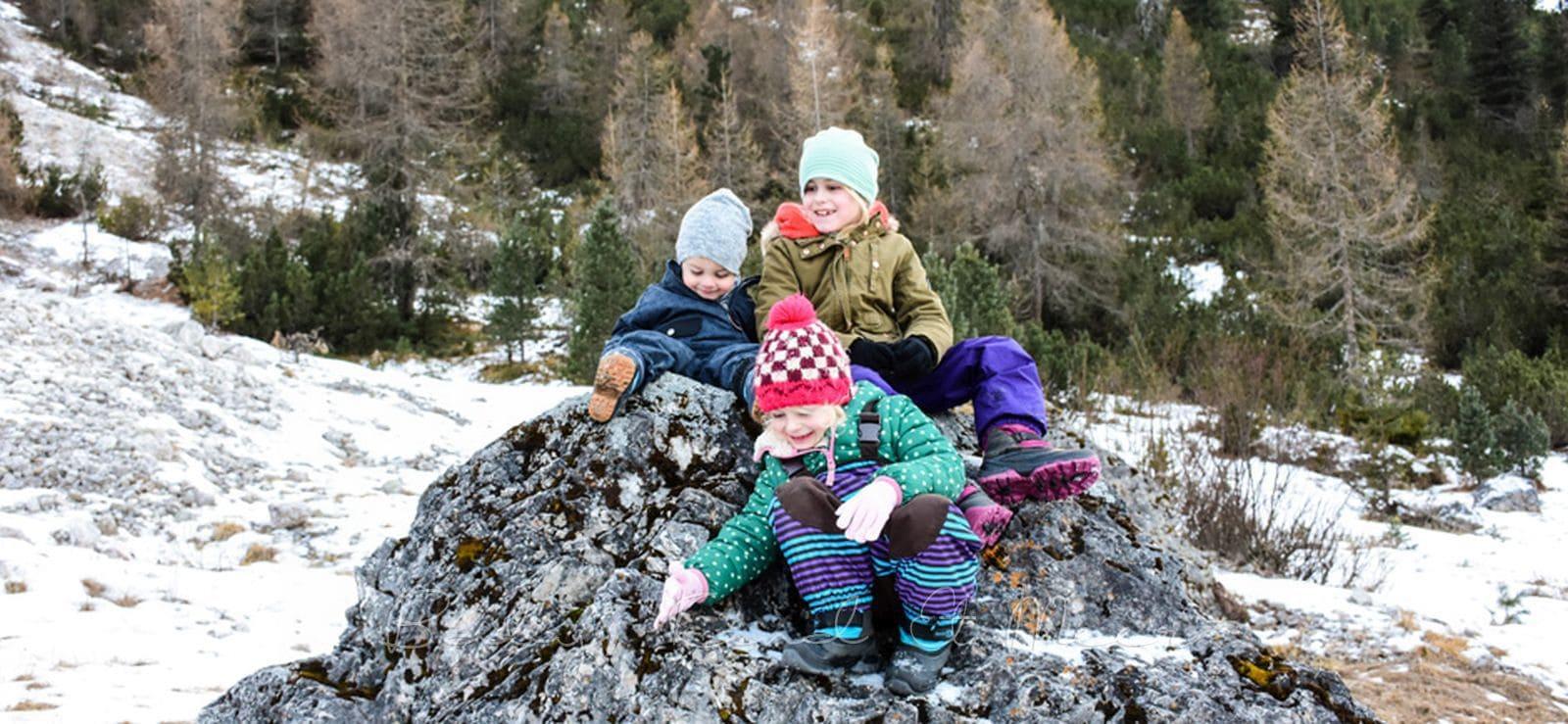Winterurlaub Mit Kindern In Den Bergen