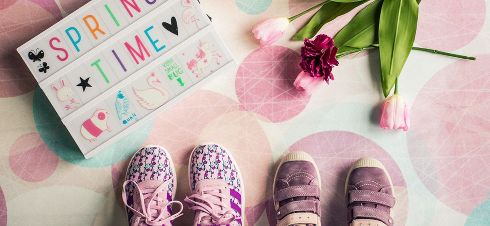 Shoes And Happy Family