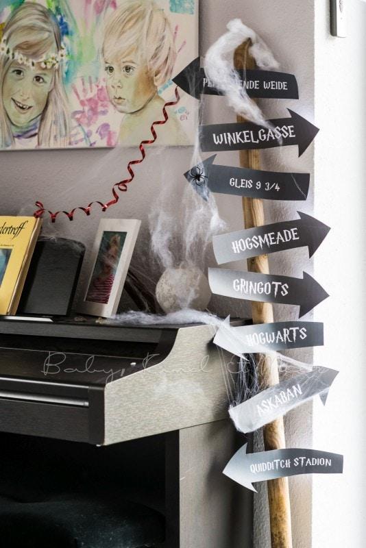 Lillis Harry Potter Party Inspirationen Familie Baby Kind Und Meer