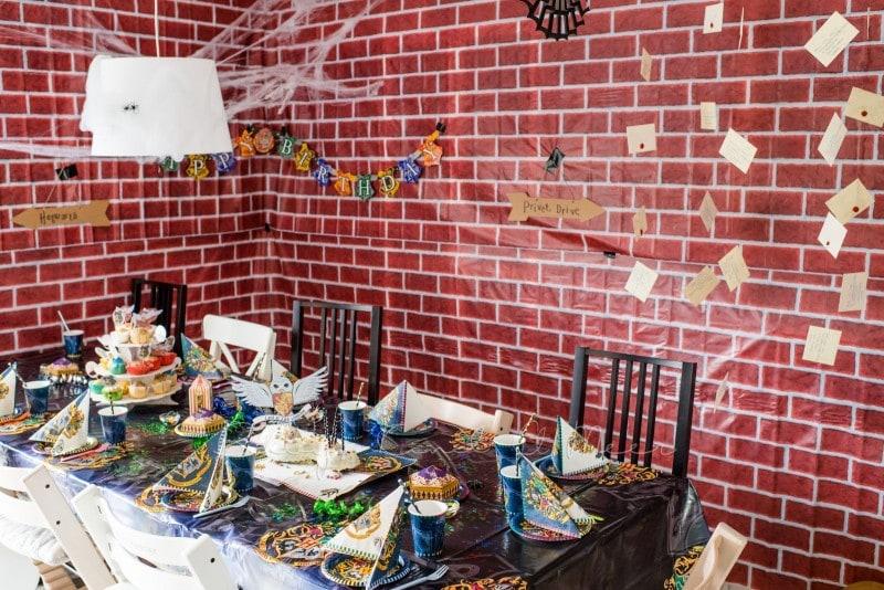 Lillis harry potter party inspirationen familienleben baby kind und meer - Harry potter party deko ...