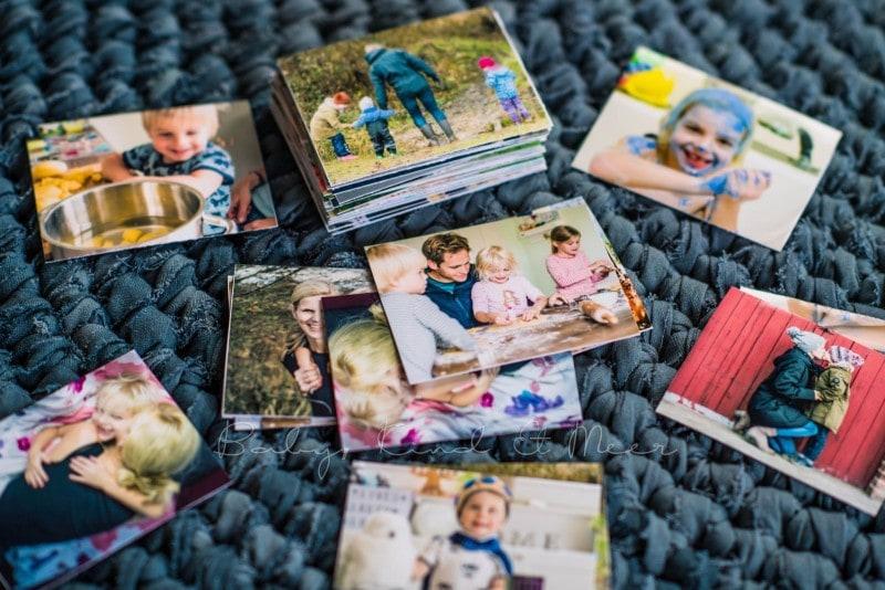 Fotomemory Basteln Mit HP Drucker 11