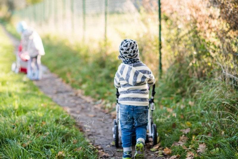 Spaziergang Mit Puppenwagen 2