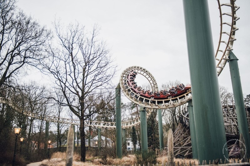Efteling Freizeitpark Winter Silvester 100