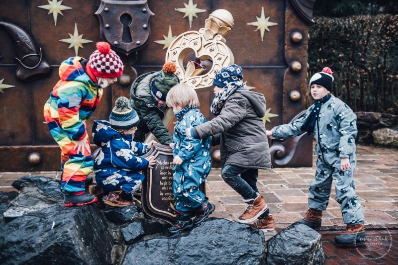 Efteling Freizeitpark Winter Silvester 37