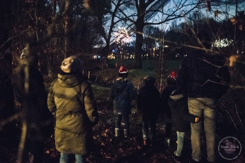 Efteling Freizeitpark Winter Silvester 83