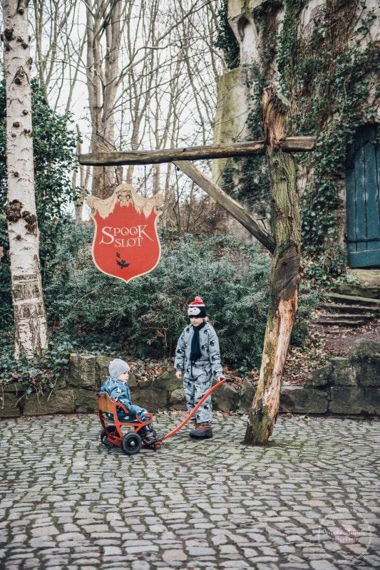 Efteling Freizeitpark Winter Silvester 91
