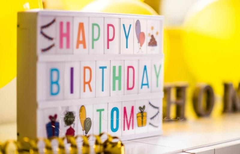 Toms 3. Geburtstag 9